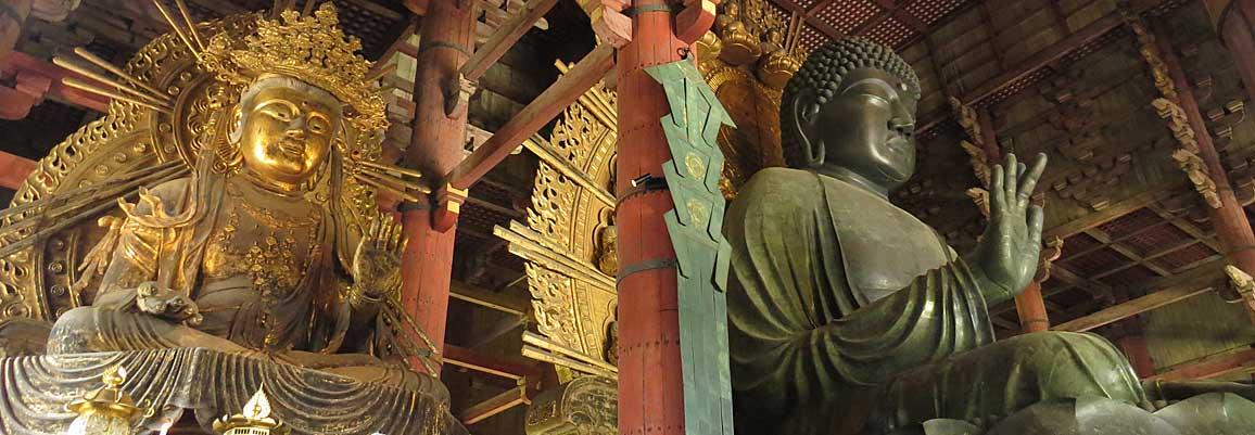 Der Daibutsu im Tōdai-ji